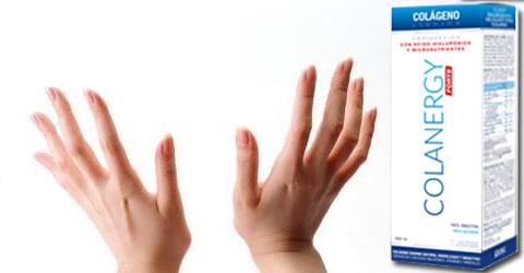 efecto del colágeno colanergy en las uñas y el pelo